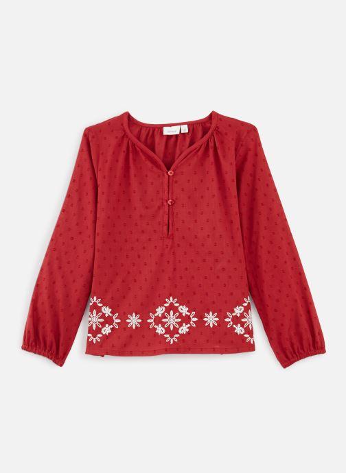 Vêtements Name it Blouse Nkfnanina Ls Shirt Rouge vue détail/paire