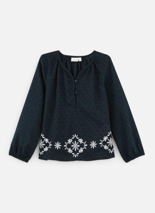 Kleding Name it Blouse Nkfnanina Ls Shirt Blauw detail