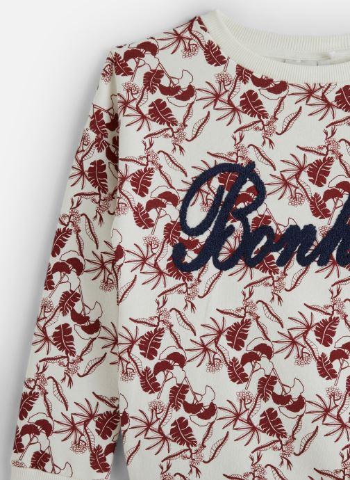 Kleding Name it Sweatshirt Nkfnomina Ls Sweat Bru Rood model