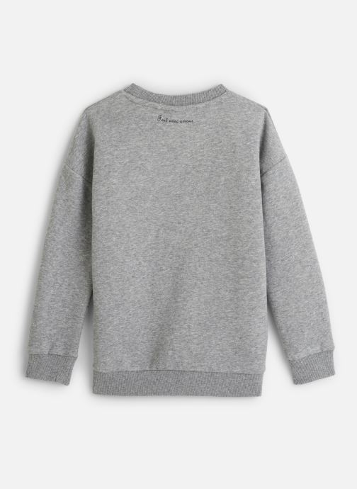 Vêtements Name it Sweatshirt Nkfnashina Ls Sweat Bru Gris vue bas / vue portée sac