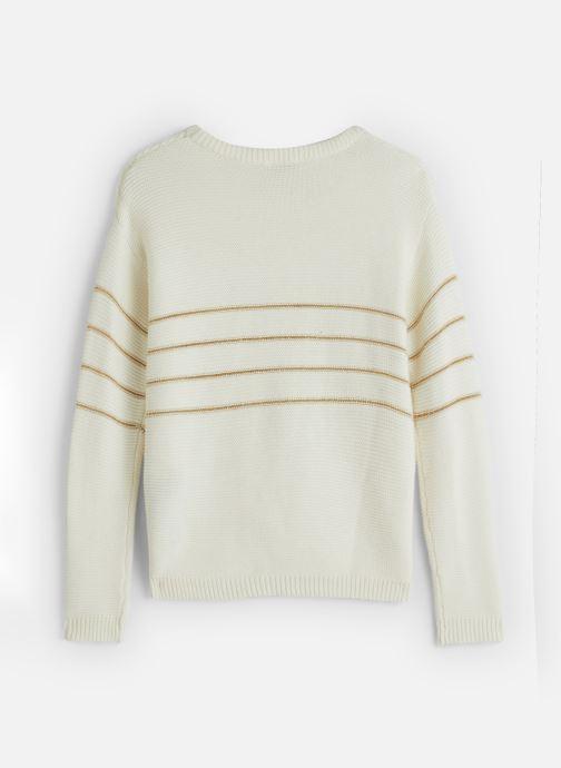 Vêtements Name it Pull Nkfobali Ls Knit Blanc vue bas / vue portée sac