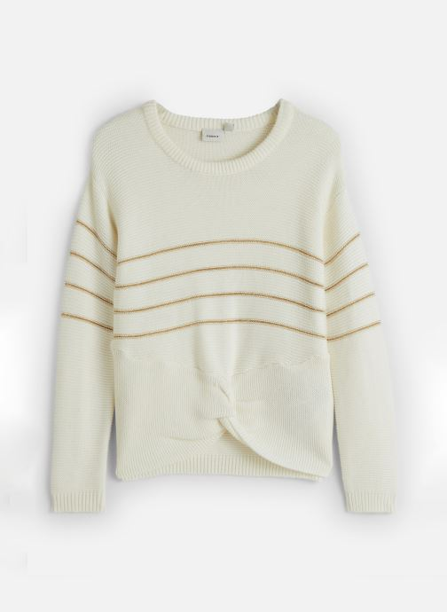 Vêtements Name it Pull Nkfobali Ls Knit Blanc vue détail/paire