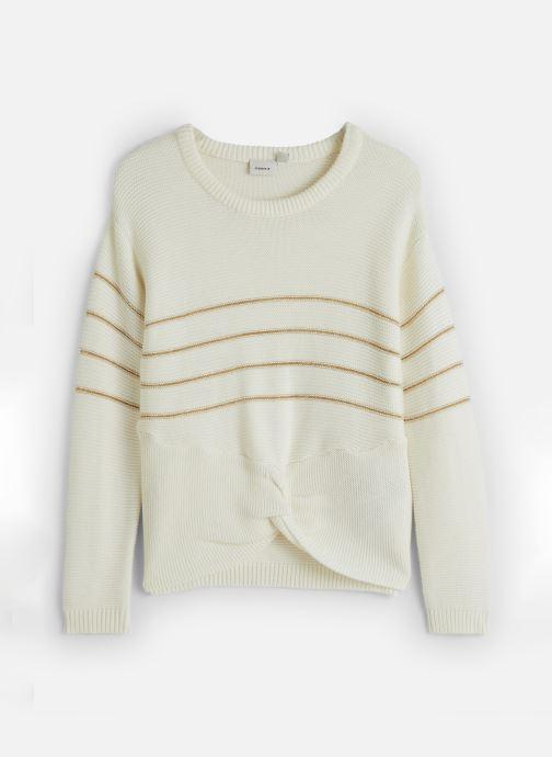 Vêtements Name it Pull Nkfobali Ls Knit Blanc vue détail/paire