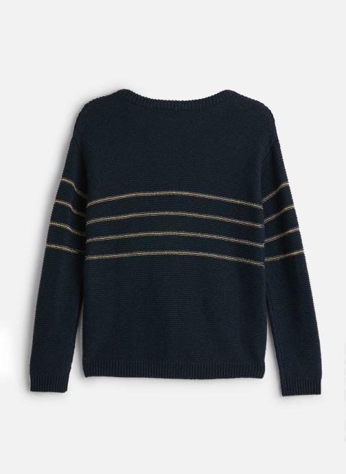 Vêtements Name it Pull Nkfobali Ls Knit Bleu vue bas / vue portée sac