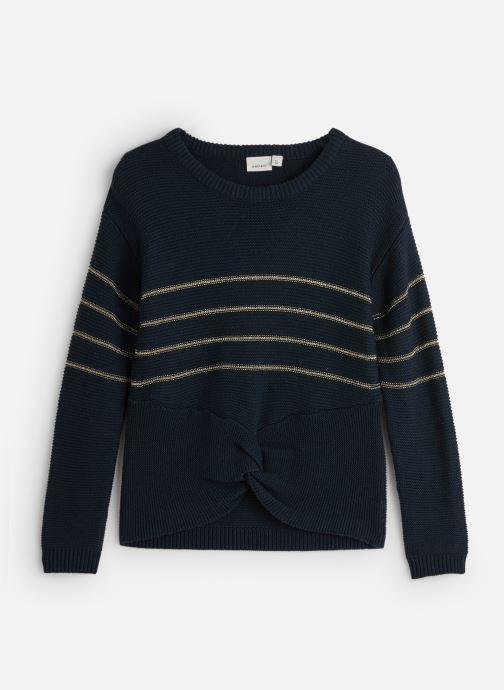 Vêtements Name it Pull Nkfobali Ls Knit Bleu vue détail/paire