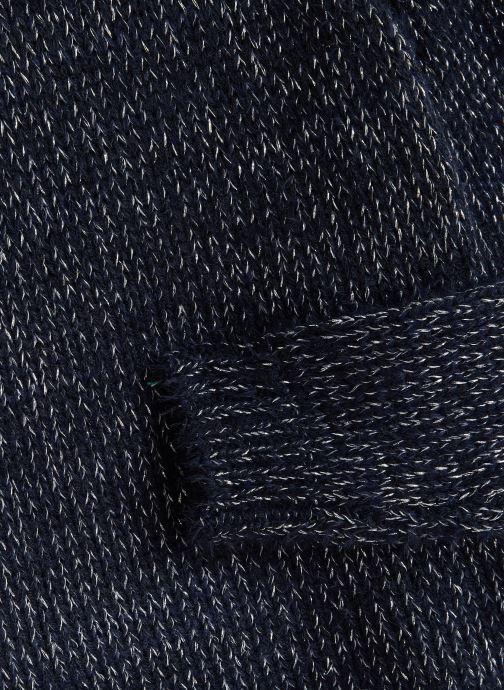 Vêtements Name it Pull Nkflilba Ls Knit Bleu vue portées chaussures