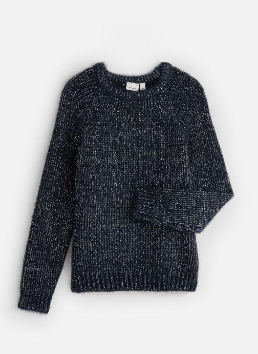 Vêtements Name it Pull Nkflilba Ls Knit Bleu vue détail/paire