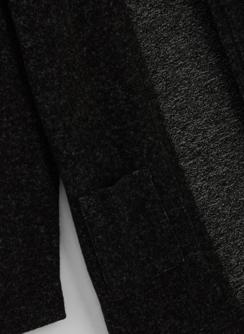 Vêtements Name it Gilet Nkfvicta Ls Knit Card Gris vue portées chaussures