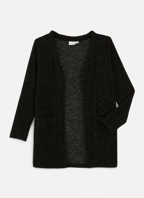 Vêtements Name it Gilet Nkfvicta Ls Knit Card Gris vue détail/paire