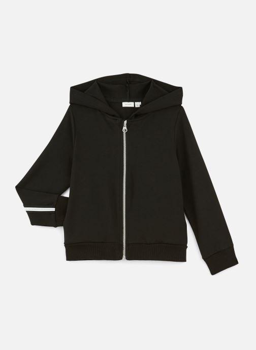 Vêtements Name it Sweatshirt Nkflornelia Ls Card Wh Noir vue détail/paire