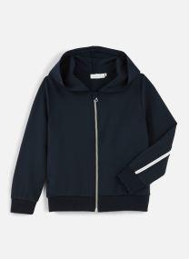 Sweatshirt Hoodie Nkflornelia Ls Card Wh