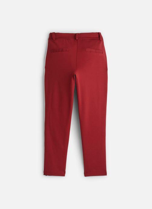 Vêtements Name it Pantalon Casual Nkfnansy Ida Pant W. Tape Normal Rouge vue bas / vue portée sac