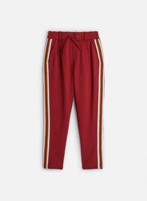 Vêtements Name it Pantalon Casual Nkfnansy Ida Pant W. Tape Normal Rouge vue détail/paire