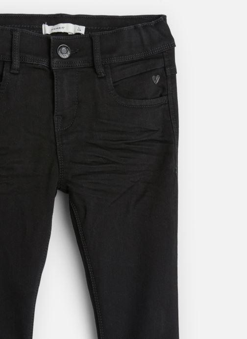 Vêtements Name it Pantalon Slim Nkfpolly Dnmcarlia Pant Camp J Noir vue portées chaussures