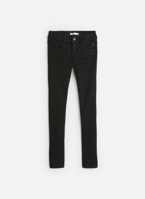 Tøj Name it Pantalon Slim Nkfpolly Dnmcarlia Pant Camp J Sort detaljeret billede af skoene