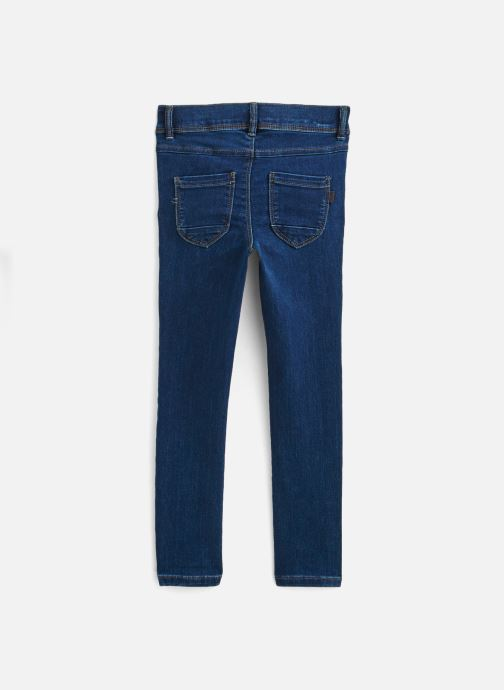 Vêtements Name it Jean Slim Nkfpolly Dnmcarlia Pant Camp J Bleu vue bas / vue portée sac