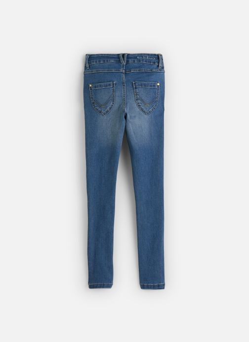 Vêtements Name it Jean Slim Nkfpolly Dnmtonjas 2230 Pant Bleu vue bas / vue portée sac