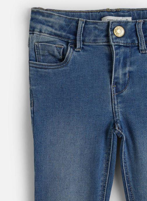 Vêtements Name it Jean Slim Nkfpolly Dnmtonjas 2230 Pant Bleu vue portées chaussures