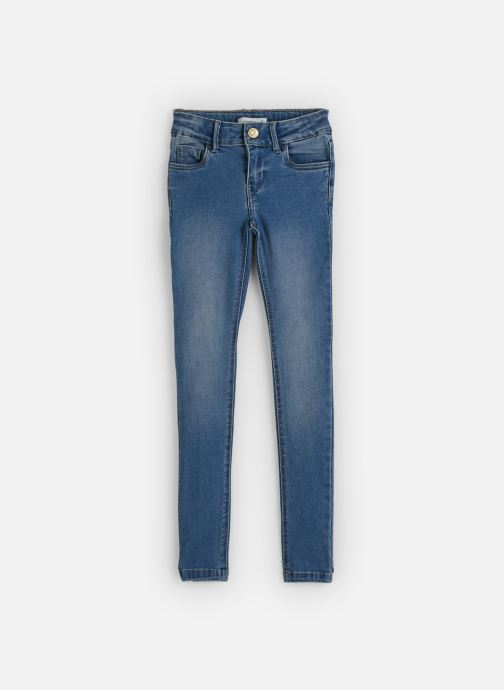 Vêtements Name it Jean Slim Nkfpolly Dnmtonjas 2230 Pant Bleu vue détail/paire