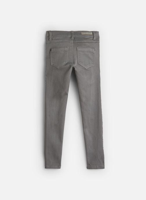 Vêtements Name it Jean Slim Nkfpolly Twitinna Pant Bk Gris vue bas / vue portée sac