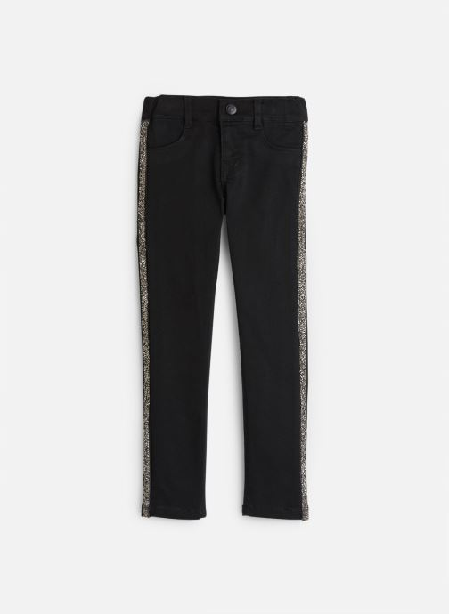 Vêtements Name it Jean Slim Nkfpolly Twitinna Pant Bk Noir vue détail/paire