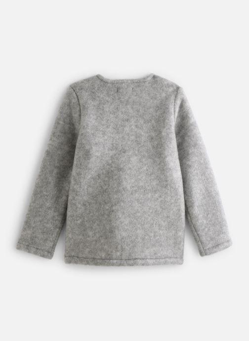 Vêtements Name it Veste Autre Nkfmalua Jacket Gris vue bas / vue portée sac
