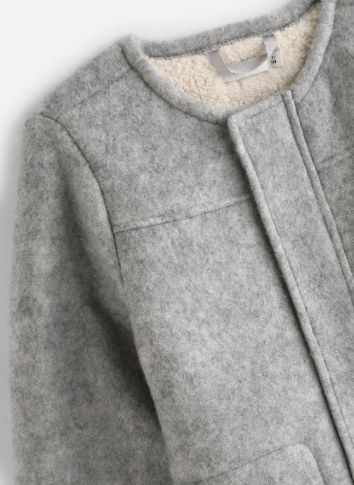 Vêtements Name it Veste Autre Nkfmalua Jacket Gris vue portées chaussures