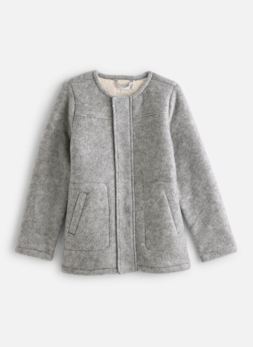 Vêtements Name it Veste Autre Nkfmalua Jacket Gris vue détail/paire