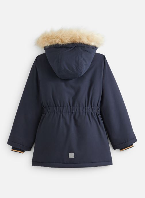 Vêtements Name it Manteau Caban Duffle Coat Nkfmoa Parka Jacket Pb Bleu vue bas / vue portée sac