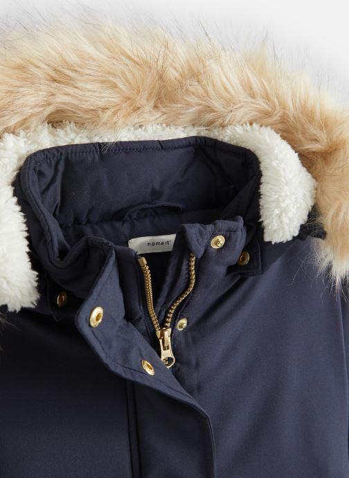 Vêtements Name it Manteau Caban Duffle Coat Nkfmoa Parka Jacket Pb Bleu vue portées chaussures