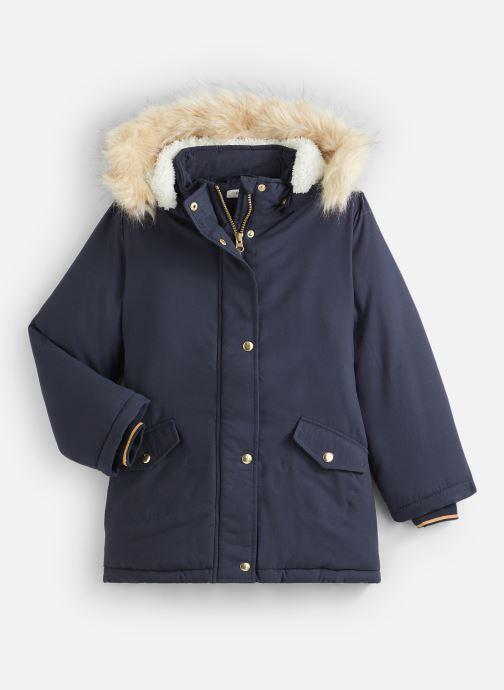 Vêtements Name it Manteau Caban Duffle Coat Nkfmoa Parka Jacket Pb Bleu vue détail/paire