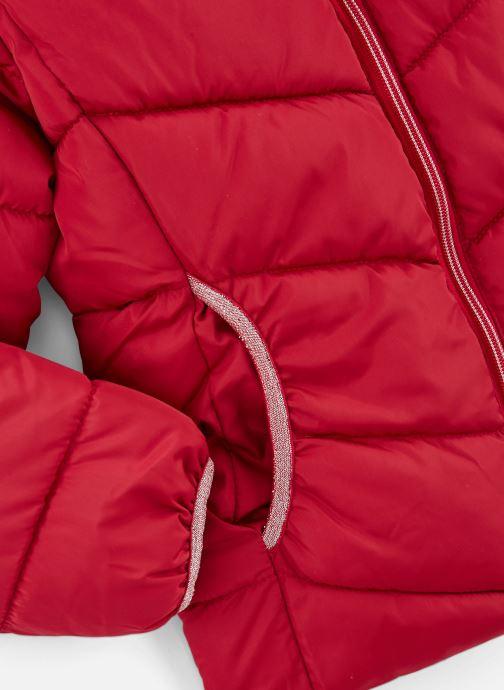 Vêtements Name it Doudoune Nkfmus Puffer Jacket Camp Rouge vue portées chaussures