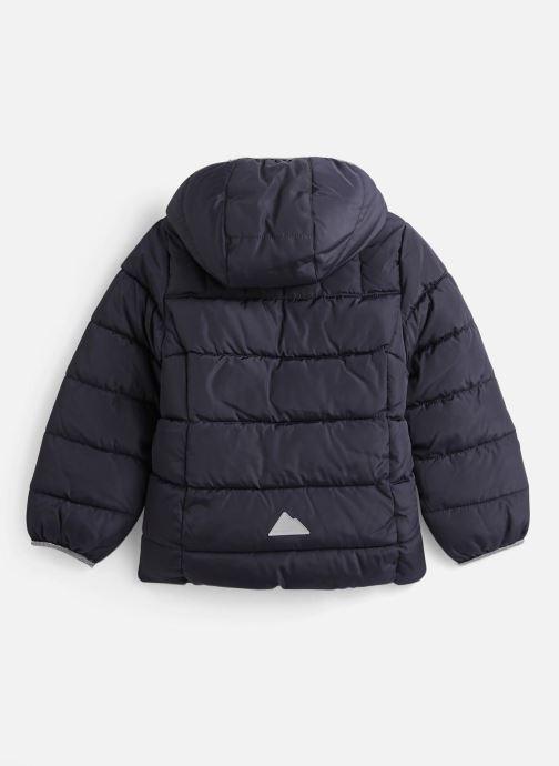 Vêtements Name it Doudoune Nkfmus Puffer Jacket Camp Bleu vue bas / vue portée sac