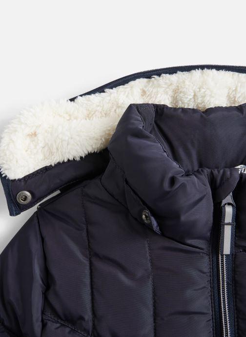 Vêtements Name it Doudoune Nkfmus Puffer Jacket Camp Bleu vue portées chaussures