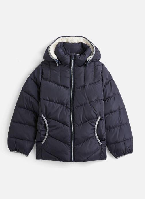 Vêtements Name it Doudoune Nkfmus Puffer Jacket Camp Bleu vue détail/paire