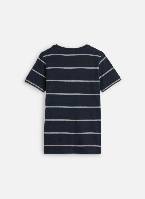 Vêtements Name it T-Shirt Nkmknut Ss Top Box Bleu vue bas / vue portée sac