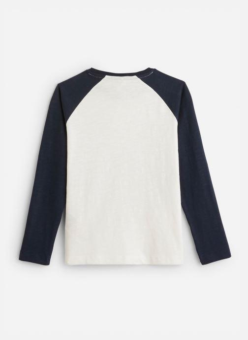 Vêtements Name it T-Shirt Nkmnsobor Ls Top Blanc vue bas / vue portée sac