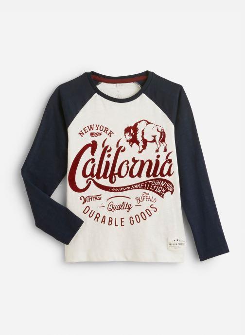 Vêtements Name it T-Shirt Nkmnsobor Ls Top Blanc vue détail/paire