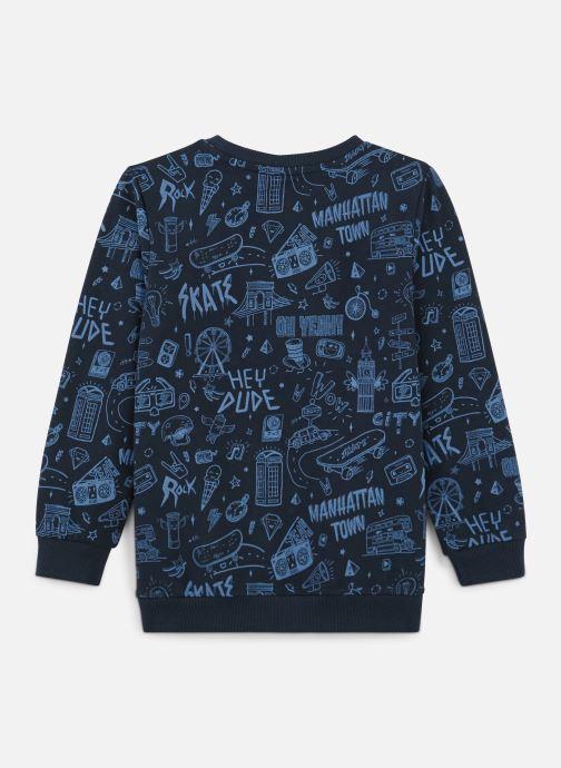 Vêtements Name it Sweatshirt Nkmkriss Ls Sweat Unb Box Bleu vue bas / vue portée sac