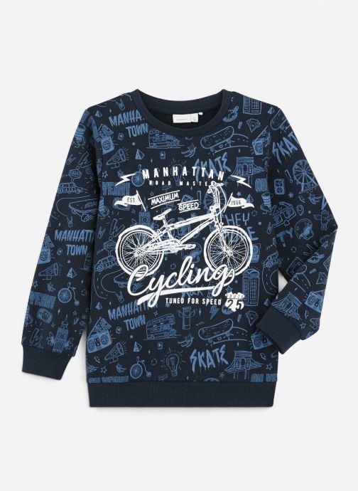 Vêtements Name it Sweatshirt Nkmkriss Ls Sweat Unb Box Bleu vue détail/paire