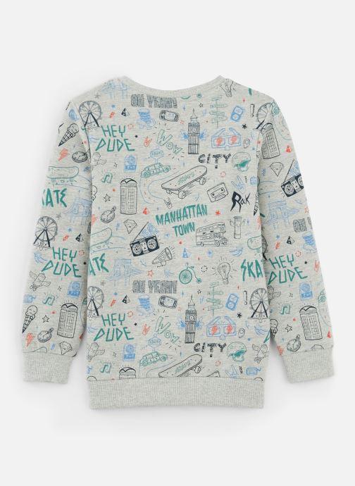 Vêtements Name it Sweatshirt Nkmkriss Ls Sweat Unb Box Gris vue bas / vue portée sac