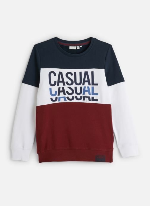 Sweatshirt - Sweatshirt Nkmlomar Ls Sweat Box Bru