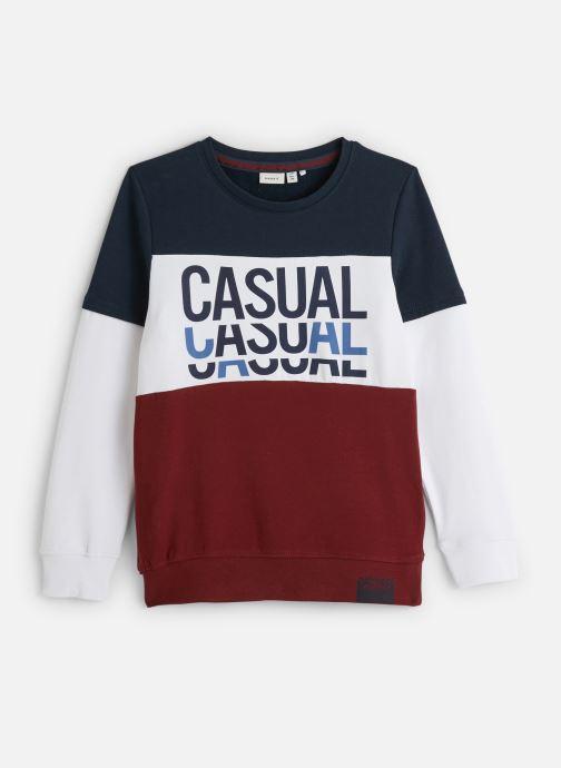 Vêtements Name it Sweatshirt Nkmlomar Ls Sweat Box Bru Rouge vue détail/paire
