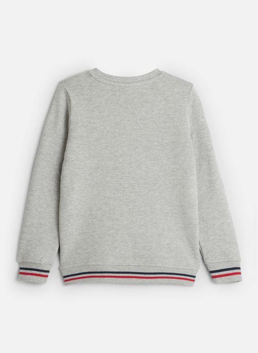 Vêtements Name it Sweatshirt Nkmncazzad Sweat Bru Gris vue bas / vue portée sac