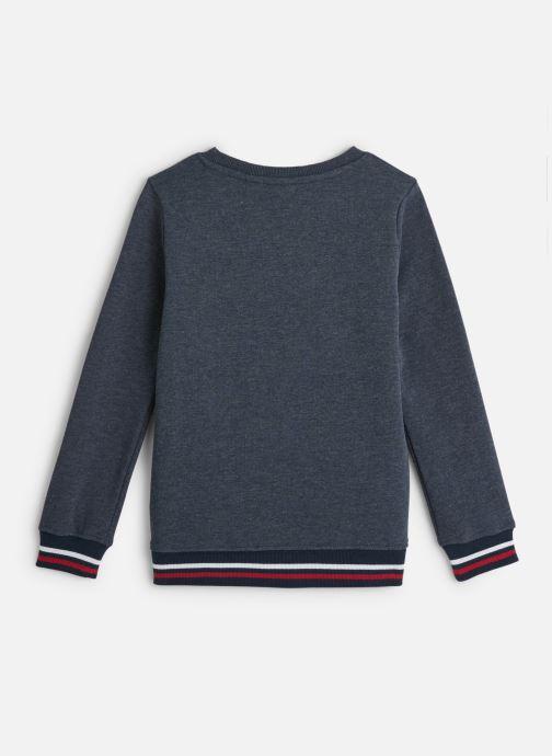 Vêtements Name it Sweatshirt Nkmncazzad Sweat Bru Bleu vue bas / vue portée sac