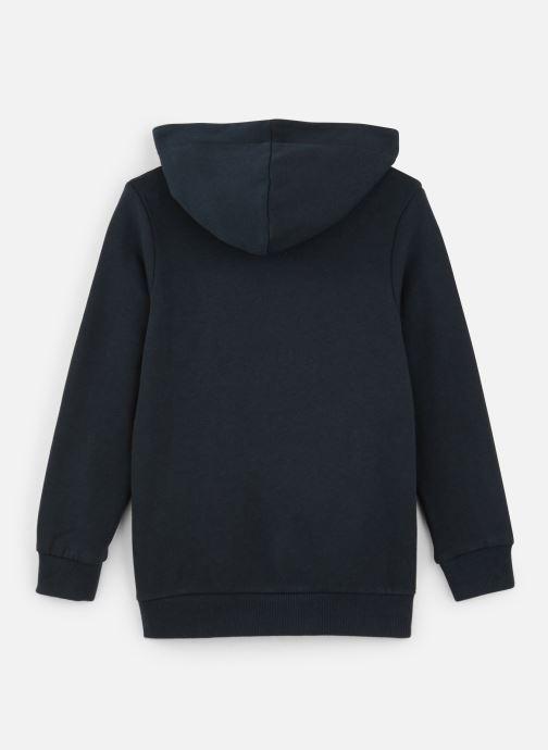 Vêtements Name it Sweatshirt Hoodie Nkmopilo Ls Sweat Wh Bru Bleu vue bas / vue portée sac