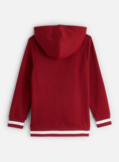 Vêtements Name it Sweatshirt Hoodie Nkfnabella Ls Swe W Hood Bru Rouge vue bas / vue portée sac