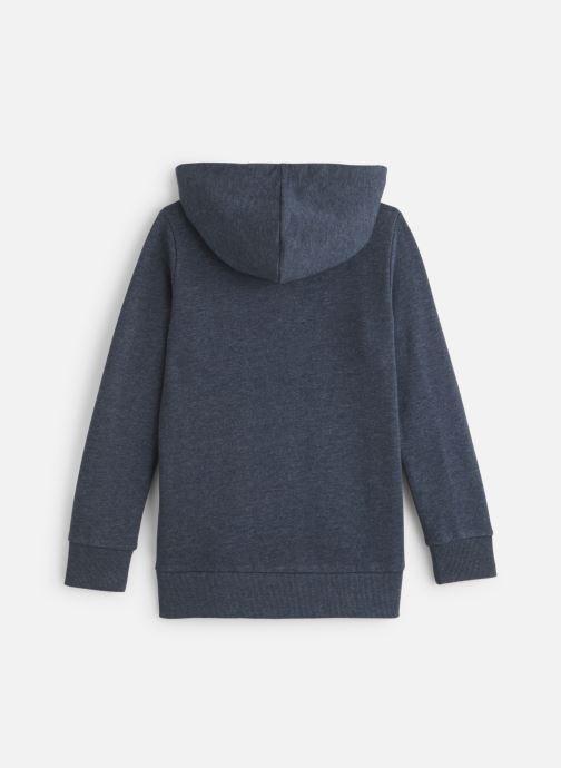 Vêtements Name it Sweatshirt Hoodie Nkmnelisha Sweat Card W Hood Bru Bleu vue bas / vue portée sac