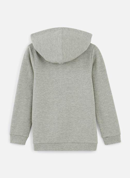 Vêtements Name it Sweatshirt Hoodie Nkmvoltano Swe Card Bru Ll Gris vue bas / vue portée sac