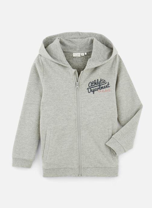 Vêtements Name it Sweatshirt Hoodie Nkmvoltano Swe Card Bru Ll Gris vue détail/paire